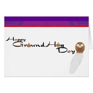 幸せな聖燭節カード カード
