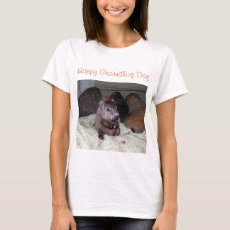 幸せな聖燭節 Tシャツ
