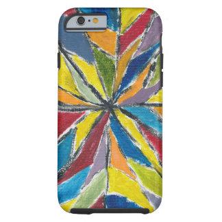 幸せな色によって堅いiPhone6ケース- ケース