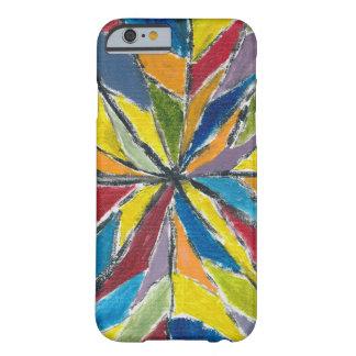 幸せな色によってiPhone 6のために-やっとそこに包装して下さい Barely There iPhone 6 ケース