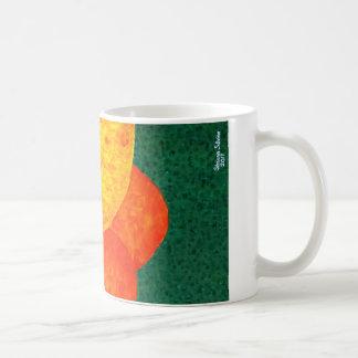 幸せな花のマグ コーヒーマグカップ
