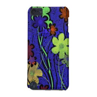 幸せな花の青いipod touchの箱 iPod touch 5G ケース