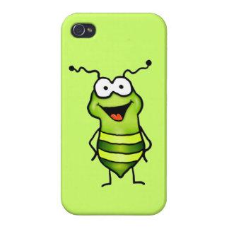 幸せな虫 iPhone 4 カバー