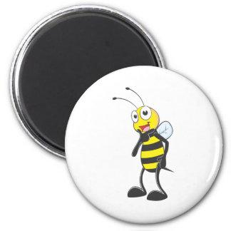 幸せな蜂 マグネット