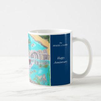 幸せな記念日発見の自然 コーヒーマグカップ