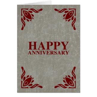 幸せな記念日 カード