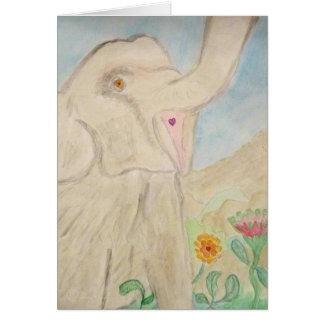 幸せな象 カード