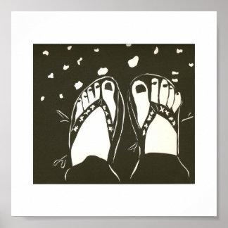 幸せな足 ポスター