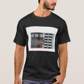 幸せな車輪のTシャツ Tシャツ