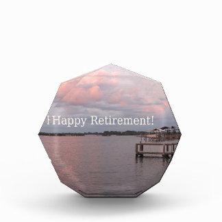 幸せな退職のヒマラヤスギの鍵フロリダ 表彰盾