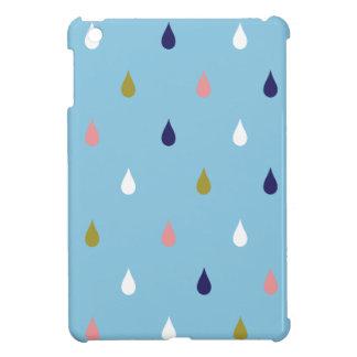 幸せな雨低下 iPad MINIケース