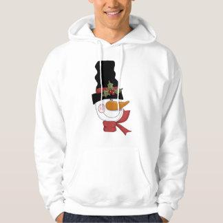 幸せな雪だるまのTシャツおよびギフト パーカ