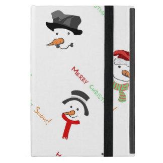 幸せな雪だるま iPad MINI ケース