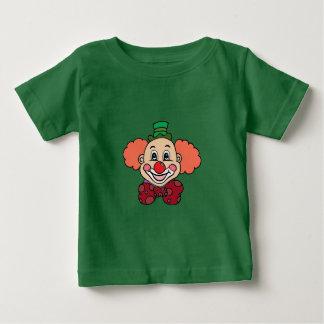 幸せな顔のピエロ ベビーTシャツ