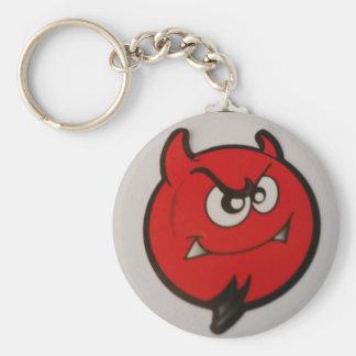 幸せな顔の悪魔Keychain キーホルダー