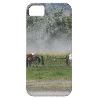 幸せな馬 iPhone SE/5/5s ケース