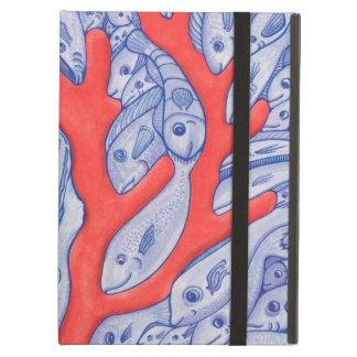 幸せな魚および珊瑚のiPadの空気箱 iPad Airケース