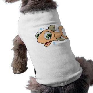 幸せな魚 ペット服