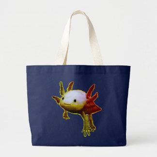 幸せな魚 ラージトートバッグ