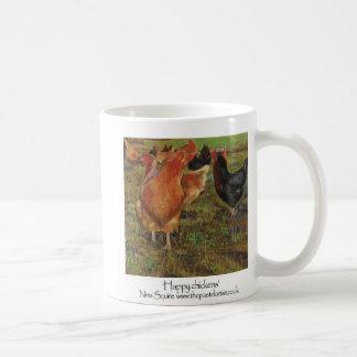 幸せな鶏 コーヒーマグカップ