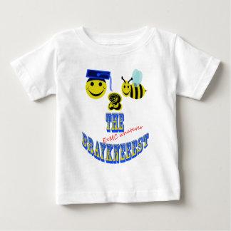 幸せな2蜂braykneeest ベビーTシャツ