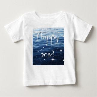幸せな2018年 ベビーTシャツ