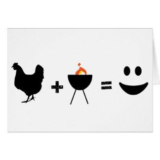 幸せなBBQの鶏 カード