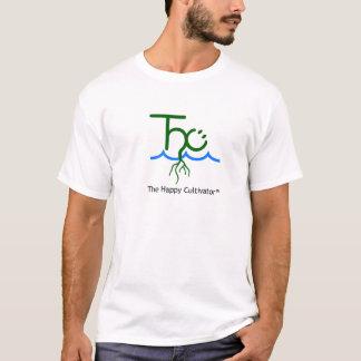 幸せなCultivator™のロゴのTシャツ Tシャツ