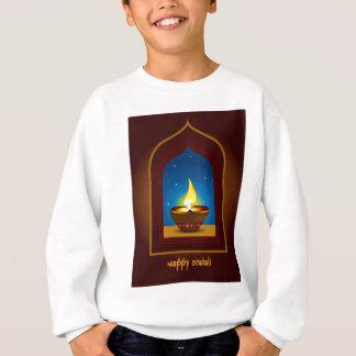 幸せなDiwali スウェットシャツ