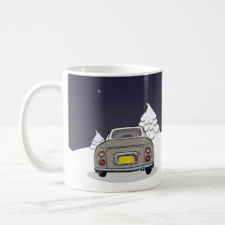 幸せなFigmas -トパーズの霧の日産・フィガロのマグ コーヒーマグカップ