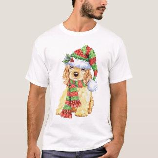 幸せなHowlidayのコッカースパニエル Tシャツ