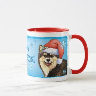 幸せなHowlidayフィンランドのLapphund マグカップ