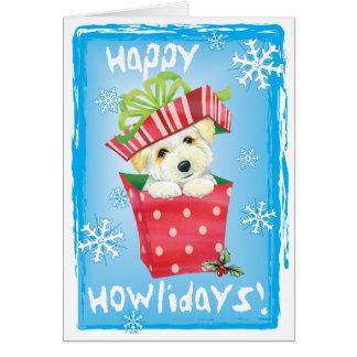 幸せなHowliday Coton カード