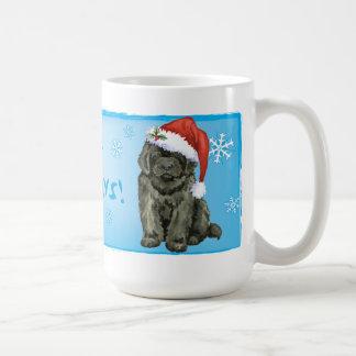 幸せなHowlidaysニューファウンドランド コーヒーマグカップ