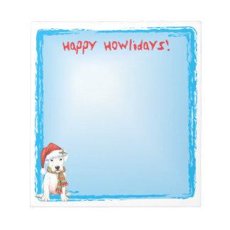 幸せなHowlidays Dogo ノートパッド