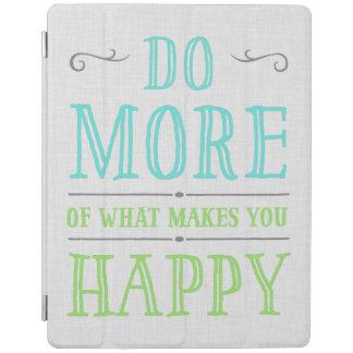 幸せなiPadカバーを作るものがの多くをして下さい iPadスマートカバー