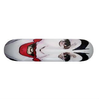 幸せなJoピエロ 18.1cm オールドスクールスケートボードデッキ