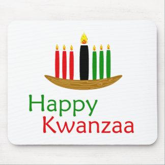 幸せなKwanzaa マウスパッド