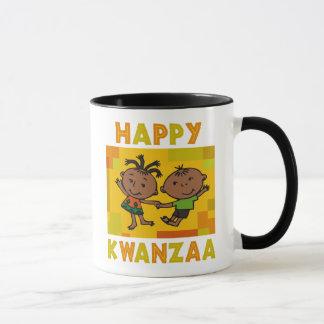 幸せなKwanzaa マグカップ