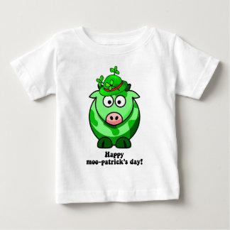 幸せなmooのpatricks日 ベビーTシャツ