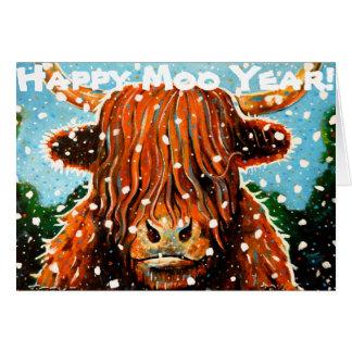 幸せなMoo年 カード
