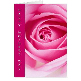 幸せなMother´s日の挨拶状 カード