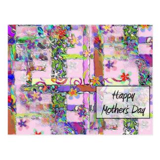 幸せなMother' s日 ポストカード
