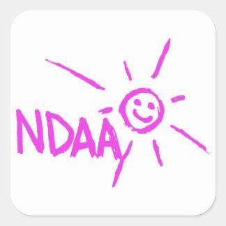 幸せなNDAA スクエアシール