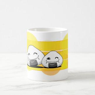 幸せなOnichibi -! コーヒーマグカップ