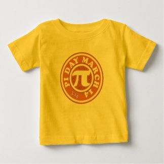 幸せなPi日3月14日 ベビーTシャツ