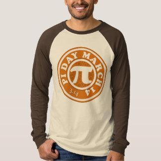 幸せなPi日3月14日 Tシャツ