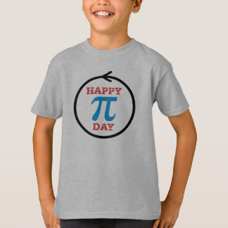 幸せなPi日 -- 子供のTシャツ Tシャツ