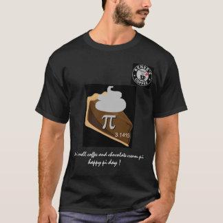 幸せなPi日- Reneesのコーヒークラブ1175年のワイシャツ1 Tシャツ