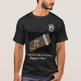 幸せなPi日- Reneesのコーヒークラブ1175年のワイシャツ2 Tシャツ